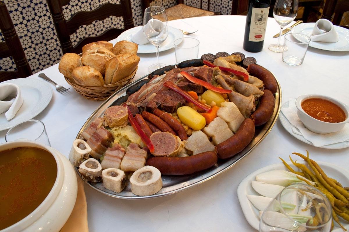 Restaurante La Gran Tasca, Madrid.