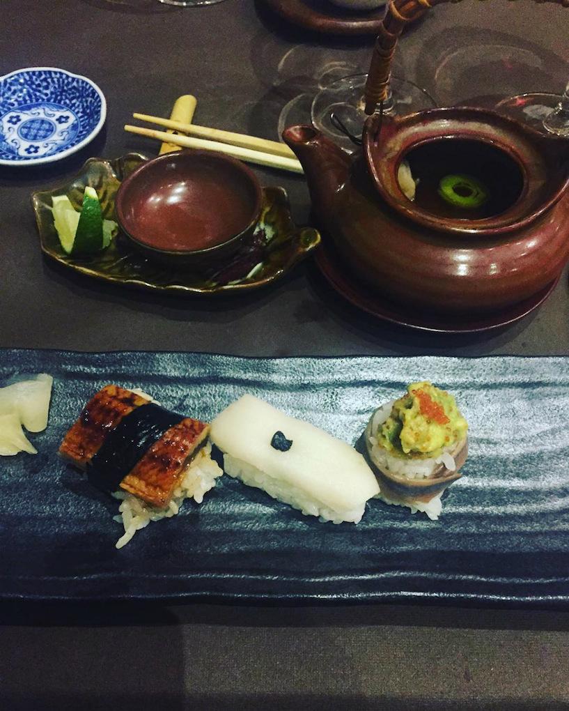 Sushi de Pedro Espina. Foto: Instagram.