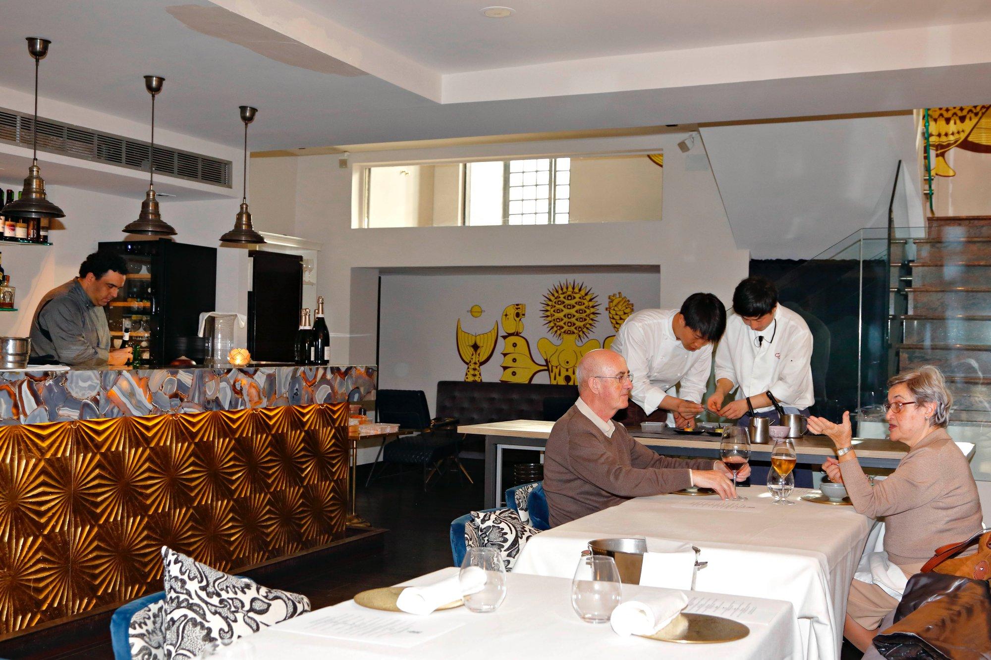 La sala de 'Soma' ocupa el antiguo gastrobar de Diego Cabrera.