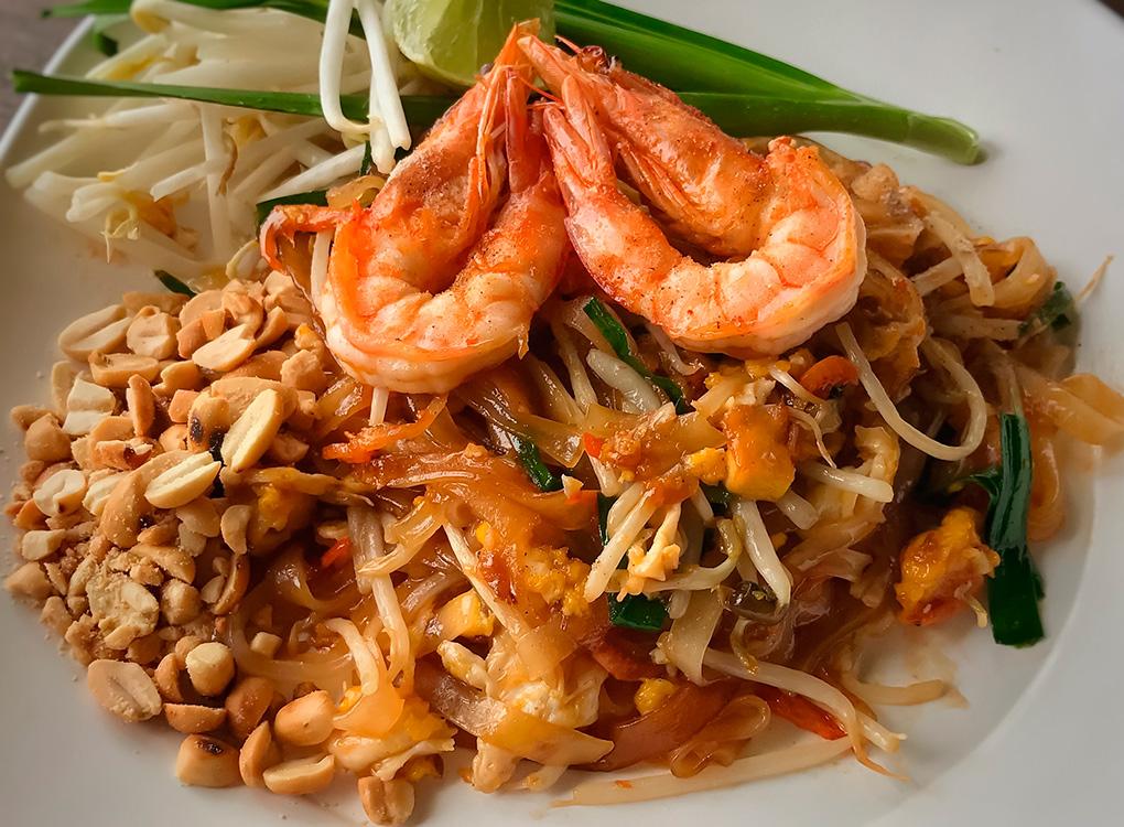 La variedad de un plato tailandés./ Foto: Shutterstock