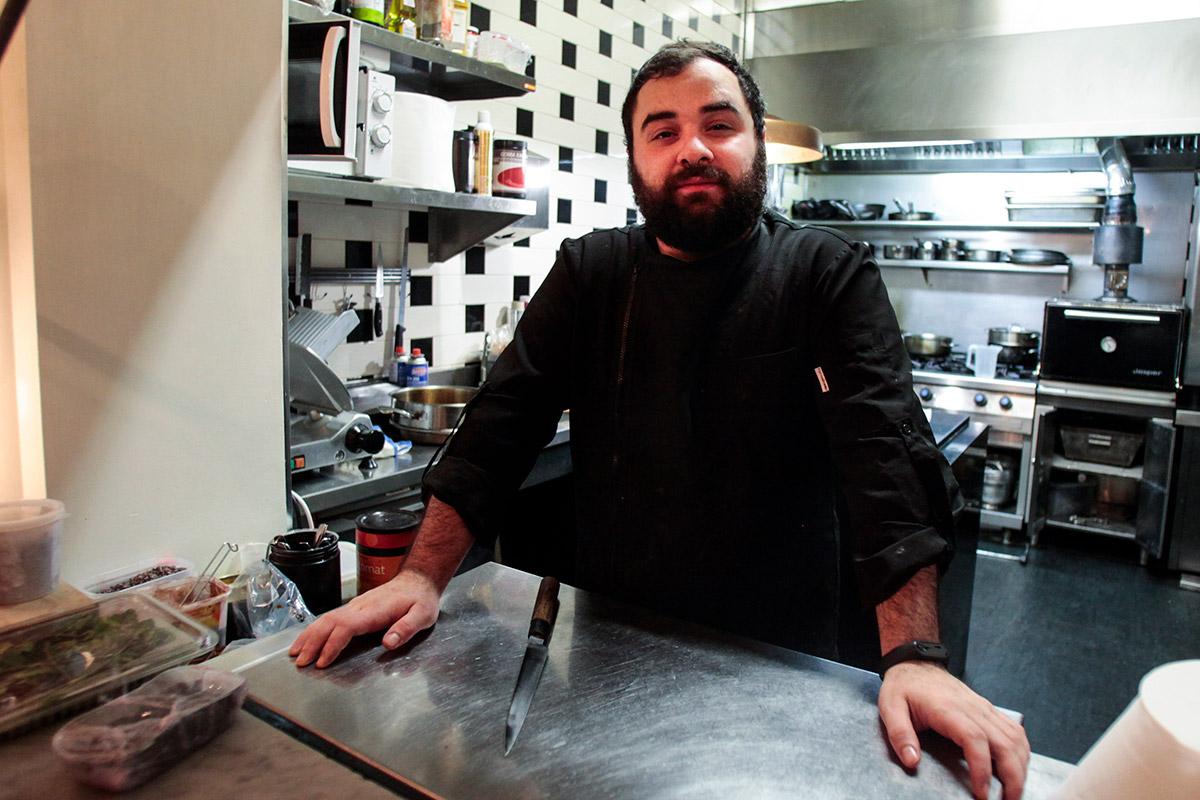Javier Casas combina en sus platos la tradición leonesa con un toque de innovación.