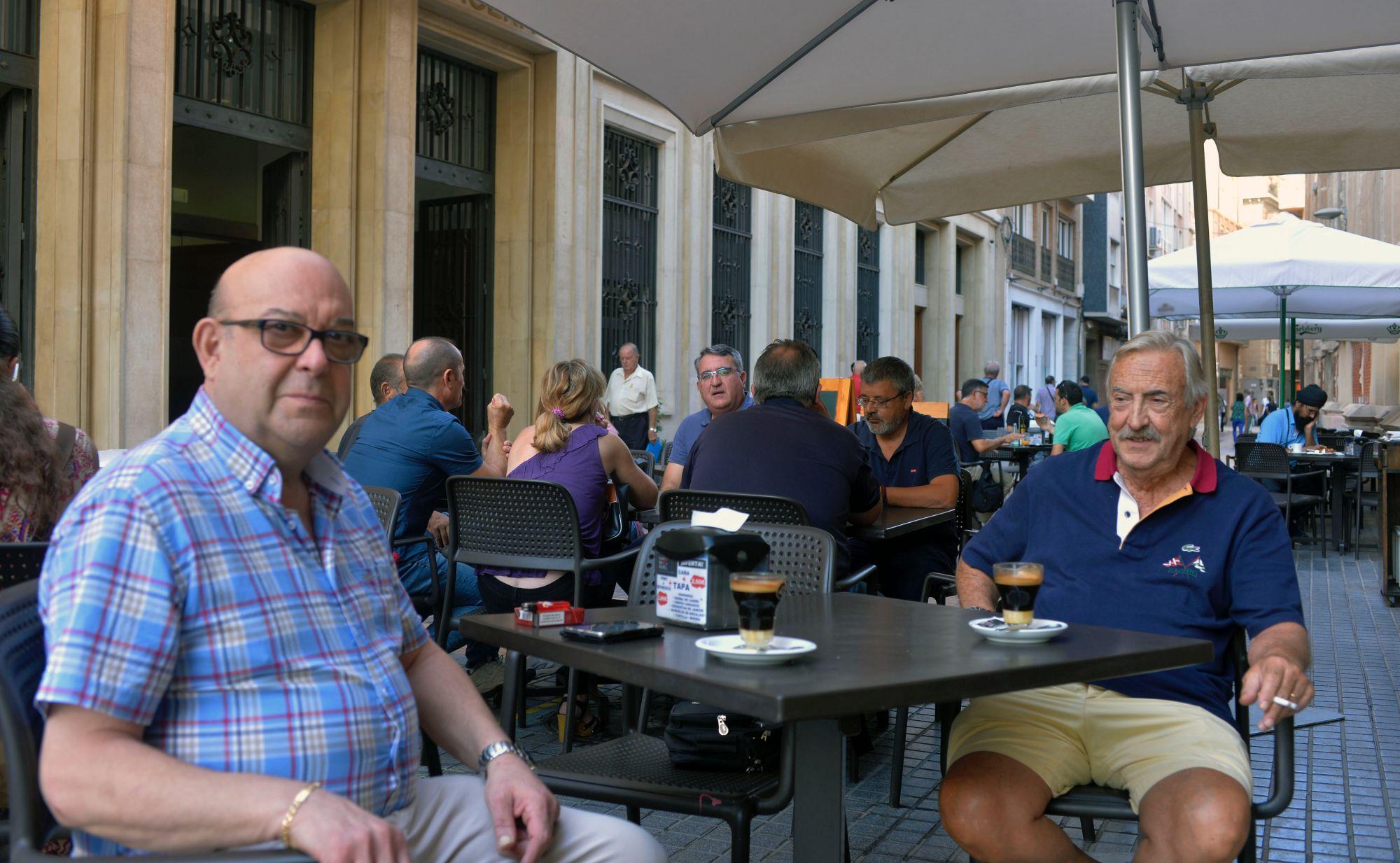 Café asiático de Cartagena (Murcia): terraza