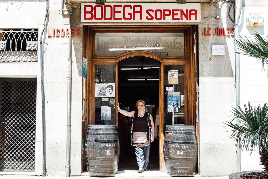 La bodega 'Sopena', en Barcelona.