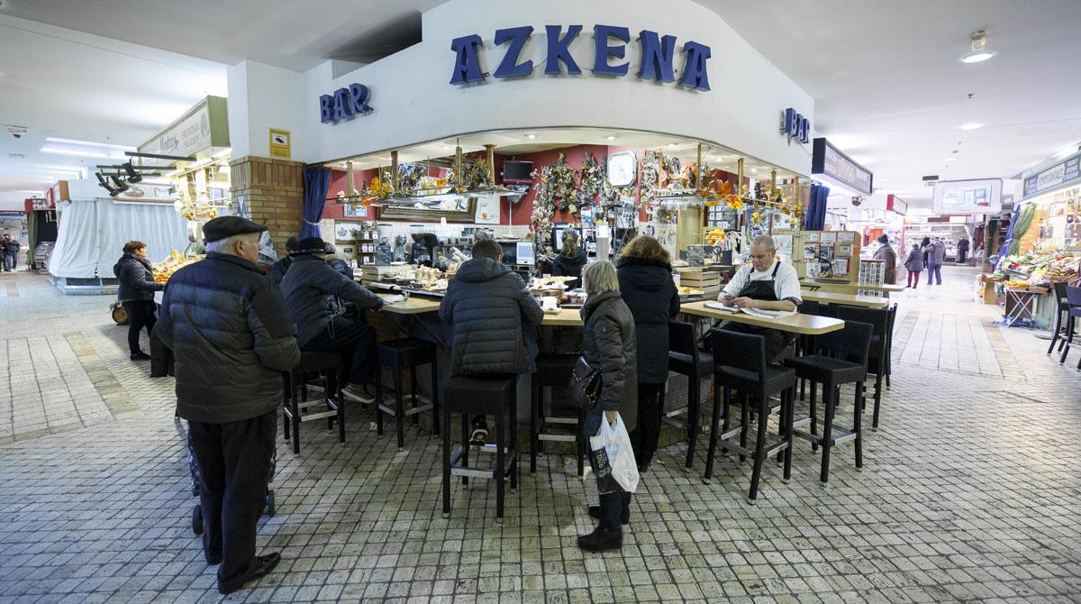 El 'Azkena',  una excelente opción para hacer una parada.