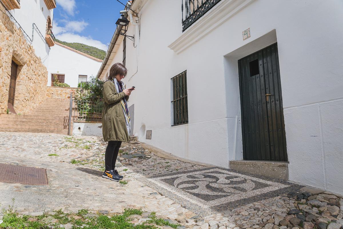 Linares de la Sierra - Mosaicos