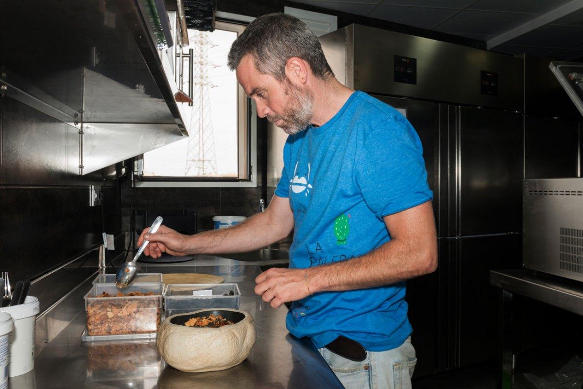 José Cremades se curtió como I+D en 'Cabaña Buenavista', lo que se refleja en su cocina.