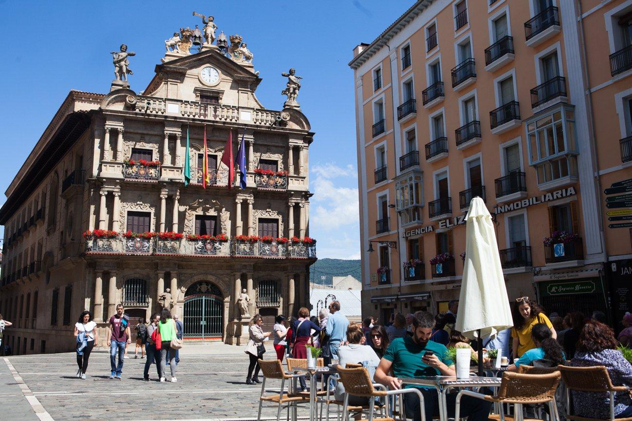 Pamplona - Plaza Consistorial