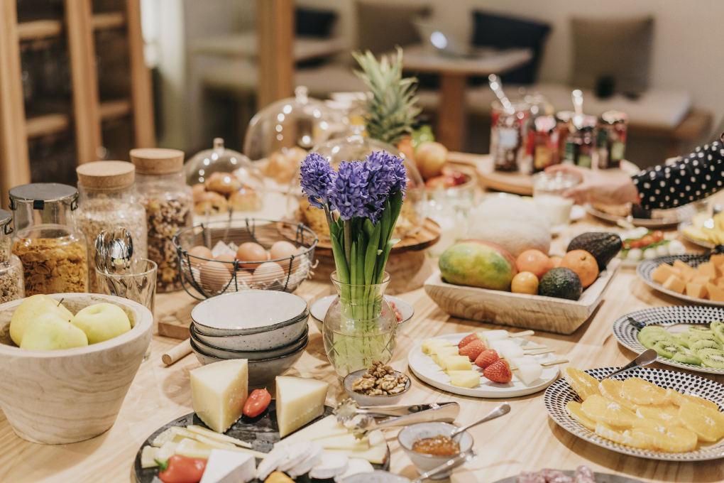 Los desayunos son, sencillamente, espectaculares. Foto: Hotel Casa Margot