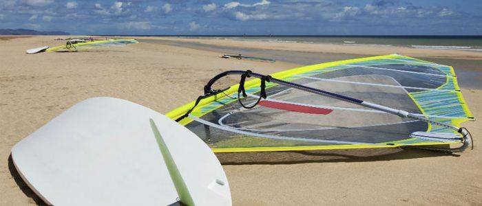 Fuerteventura es el paraíso para los deportes acuáticos que requieran gran cantidad de viento.
