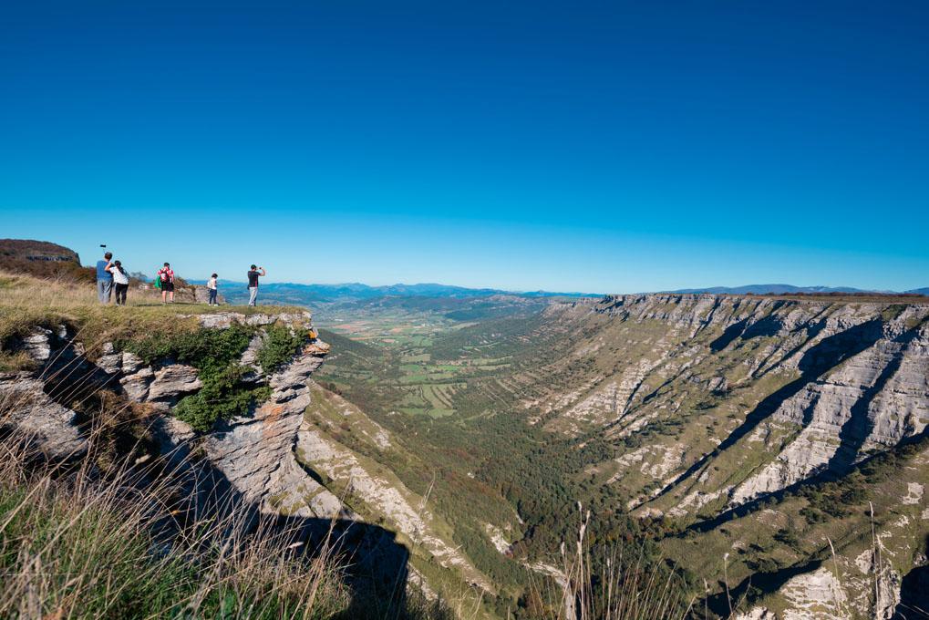 El salto del Nervión, el salto de agua más alto de la península. Foto: shutterstock.com.