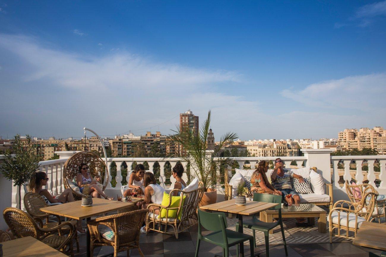 Azotea 'Carmen Polo Terrace': vistas desde la terraza