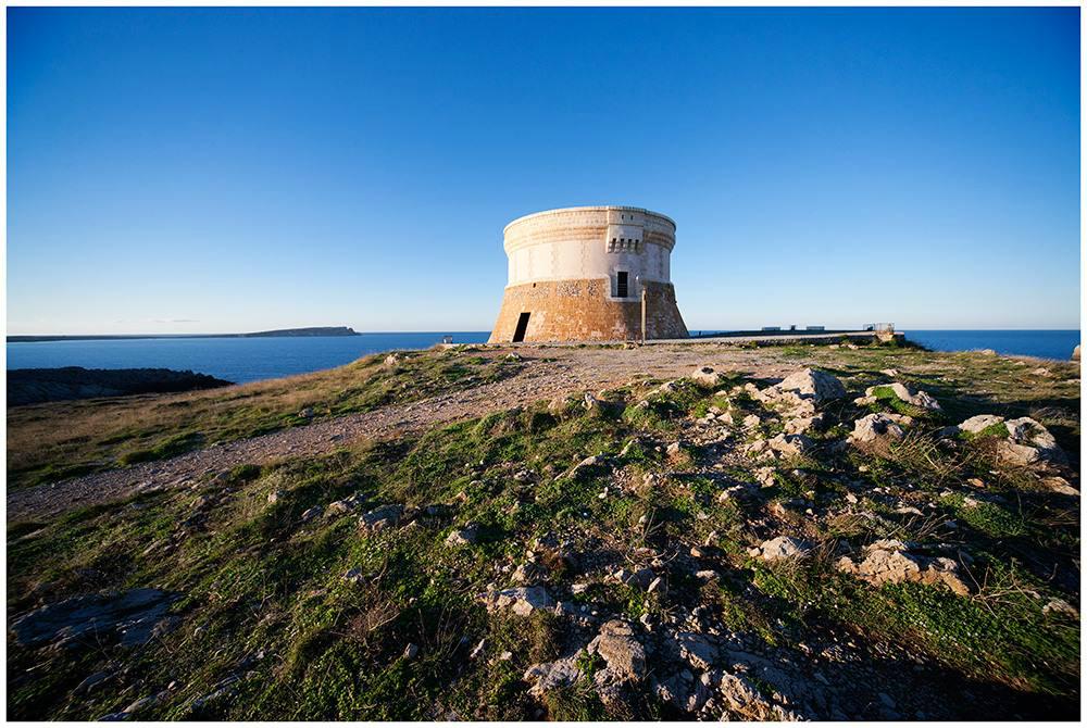 La ruta fortificada. Foto: Turismo de Menorca.
