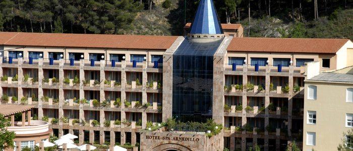 Hotel spa Balneario de Arnedillo.