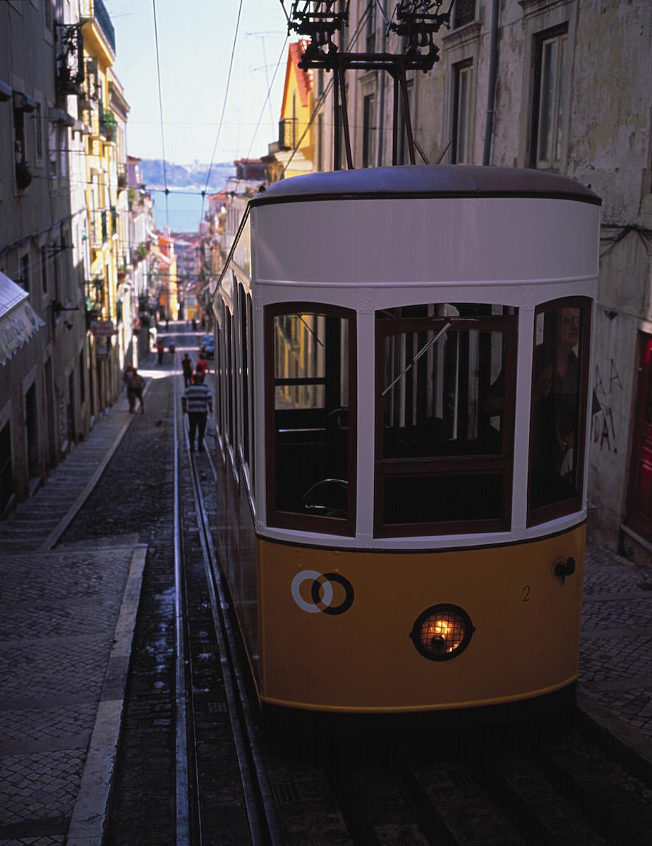 Elevador de Gloria. Foto: Turismo de Portugal.