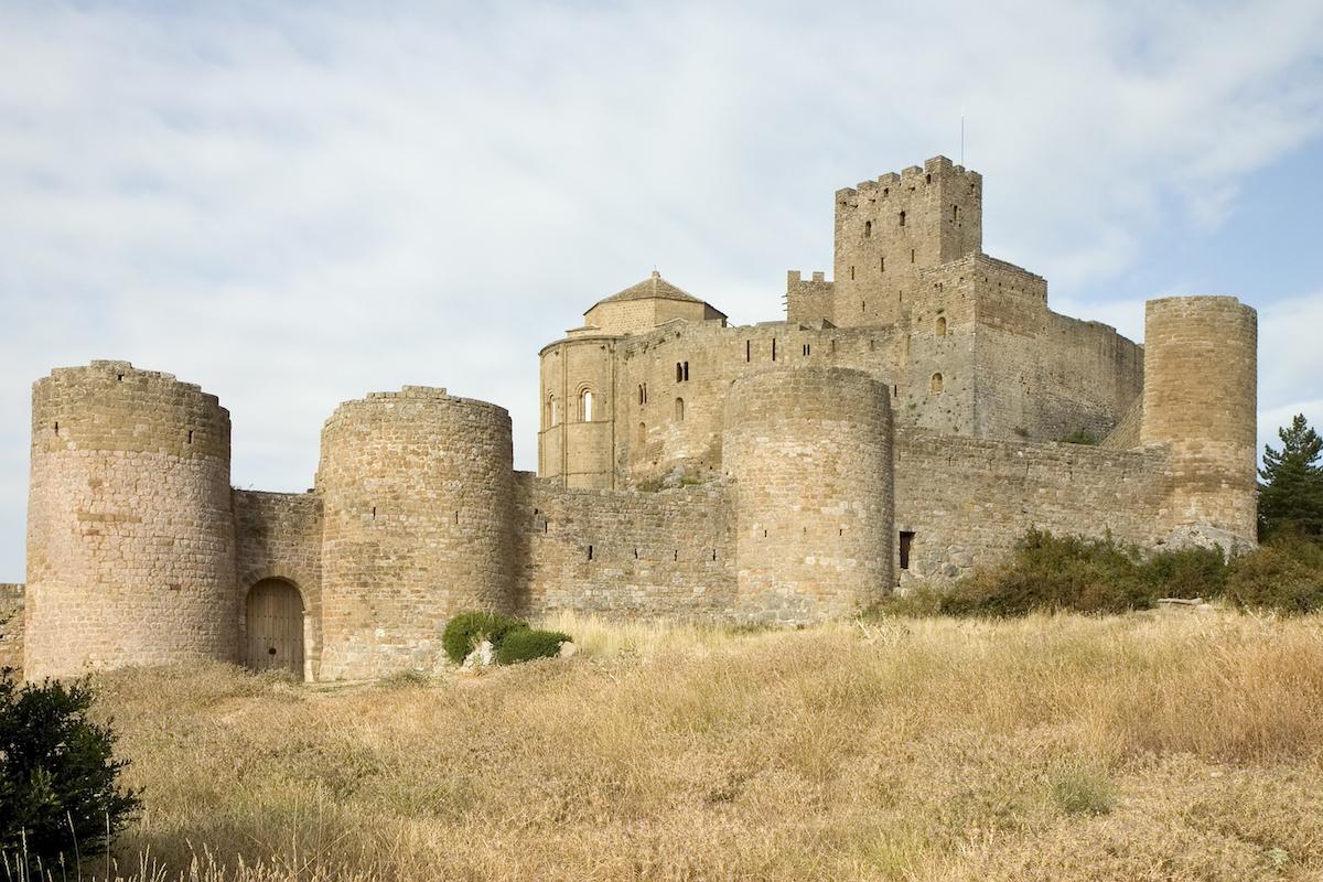 Castillo de Loarre y Bolea.