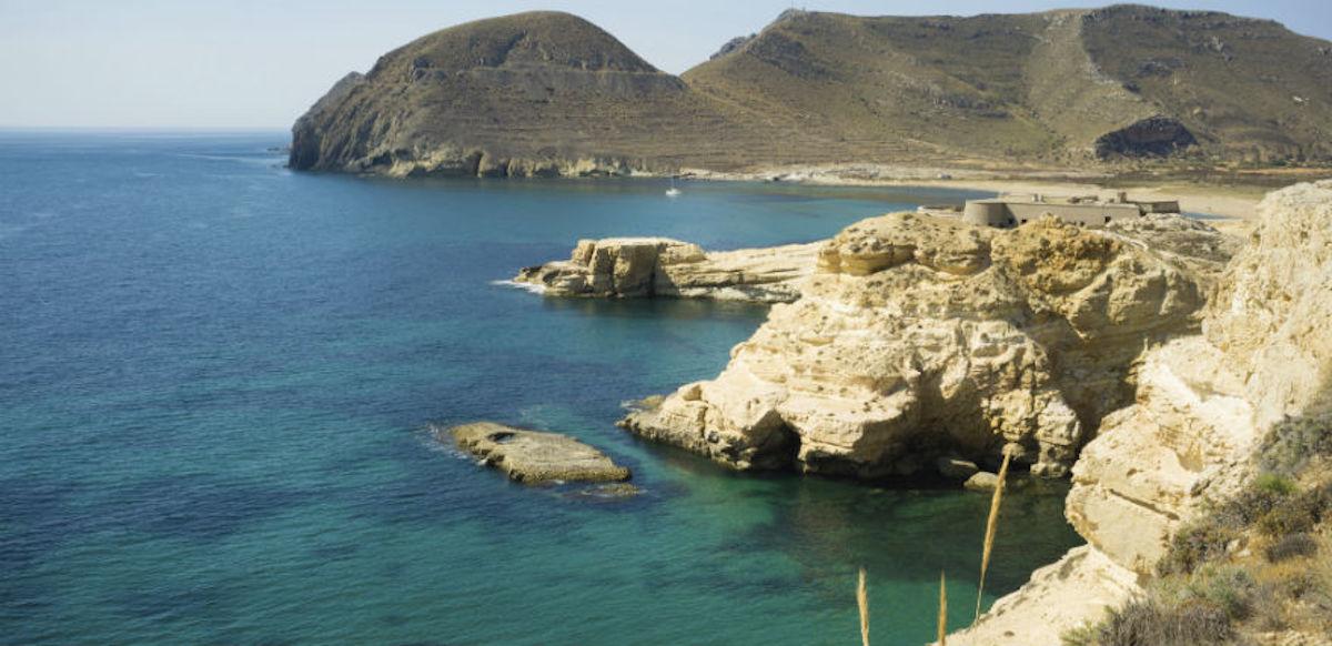 Playa de Almería.