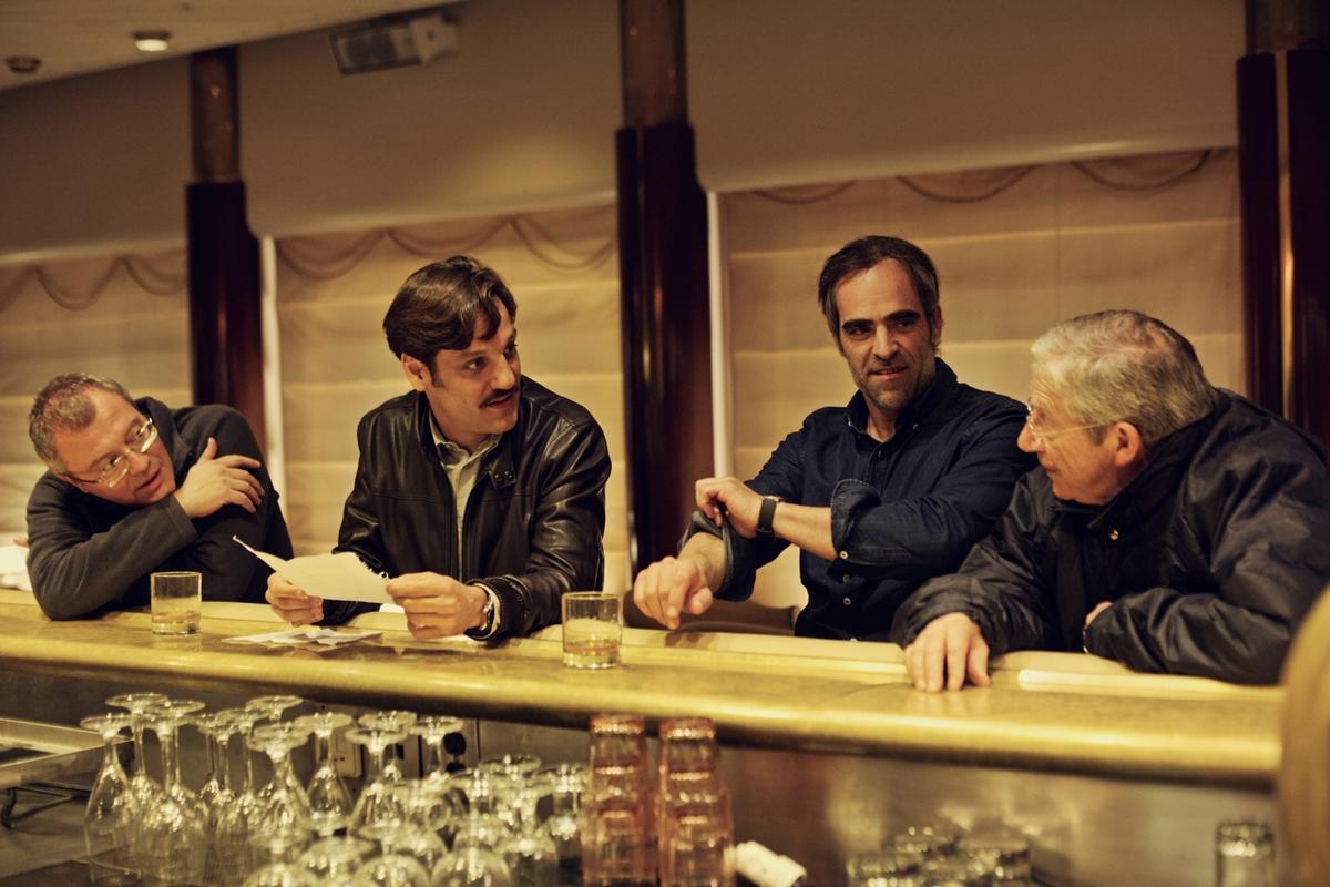 Daniel Monzón ha preparado una película a la medida de Luis Tósar. Foto: Manolo Pavón.