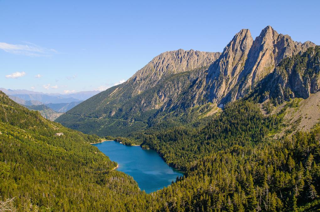 No son los Alpes, son las montañas del Pirineo Illerdense. Foto: shutterstock