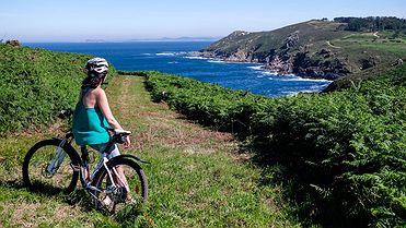 Ruta en bicicleta por la Isla de Ons (Pontevedra)