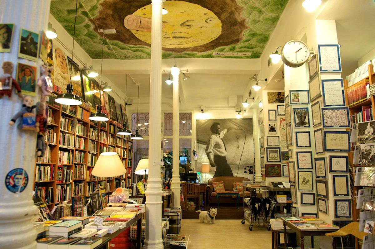 Librería 8 y 1/2, Madrid.
