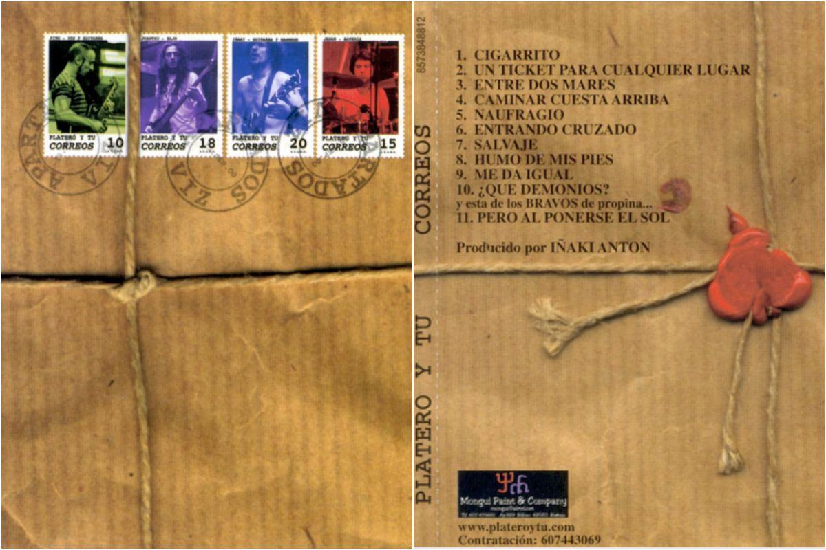 'Correos' era el nombre de la portada (en la imagen, reverso y anverso). Foto: Facebook.