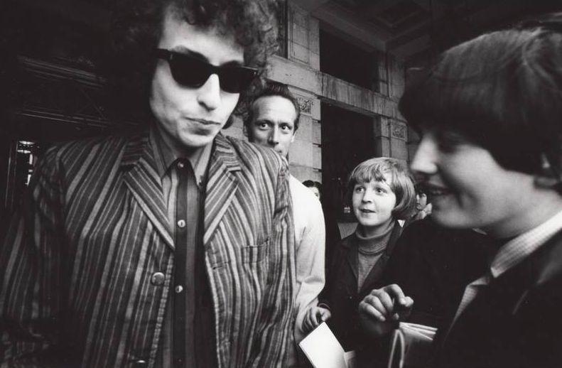 Bob Dylan a finales de los 60 en Inglaterra, antes de convertirse al Cristianismo. Foto: Facebook.