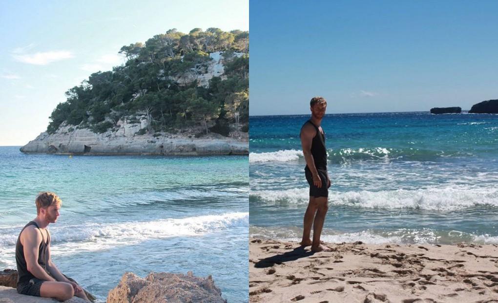 """Cualquier cala de Menorca """"es un auténtico paraíso""""."""