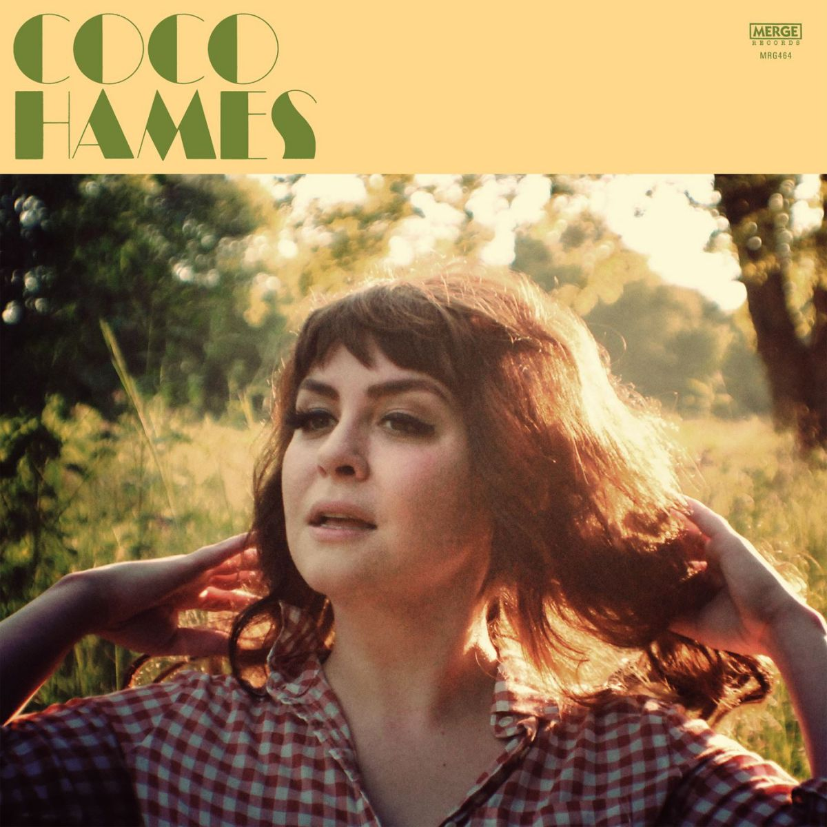 Coco Hames en la portada de su disco en solitario. Foto: Facebook.