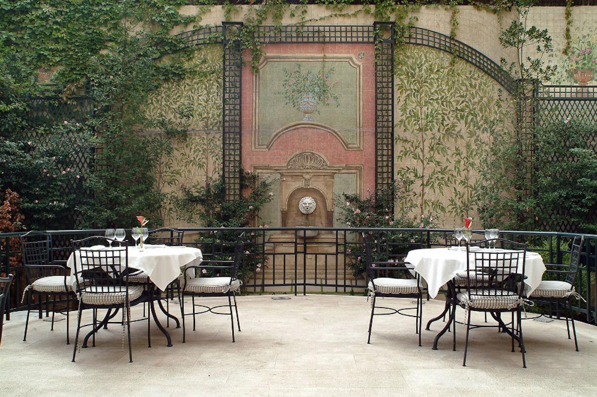 El jardín de Orfilia.