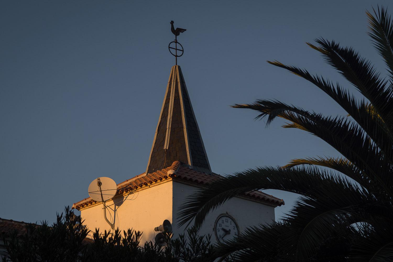 Campanario de la iglesia de Pueblonuevo del Bullaque.