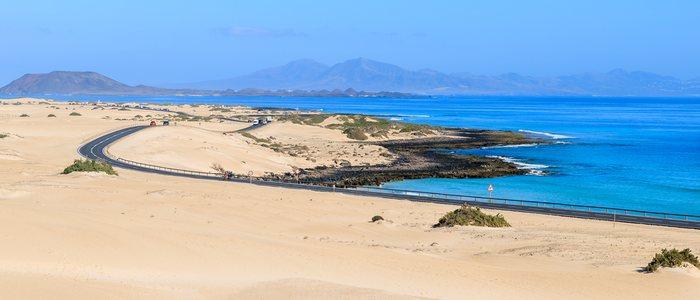 Las Dunas de Corralejo, en Fuerteventura. Foto: Shutterstock.