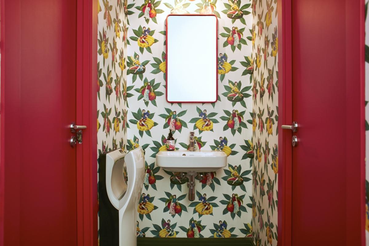 Detalle de la decoración de uno de los baños. Foto: Casa Bonay. Nacho Alegre.
