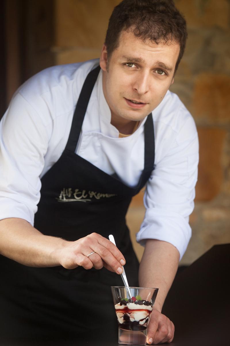 El chef Samuel-Fernández. Foto: El Remedio.
