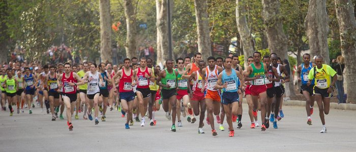 Si vas a correr una maratón, vigila también tu alimentación.