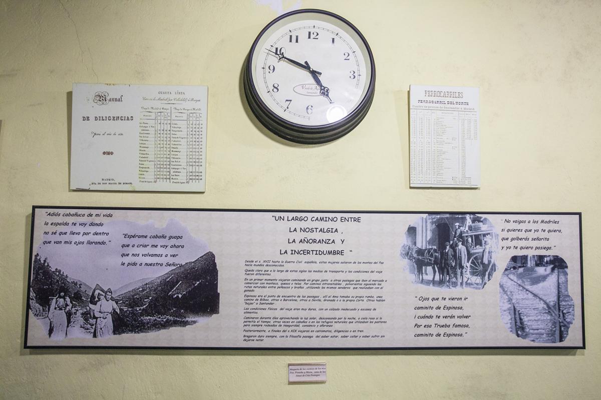 """Museo de las Amas de Cría. Selaya. Cantabria. """"Adiós cabañucas de mi vida, la espalda te voy dando…""""La añoranza."""