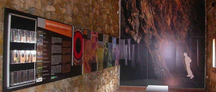 Interior del museo La Jayona.