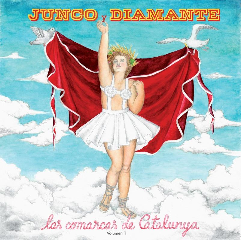 """La portada del disco """"Las comarcas de Catalunya""""."""