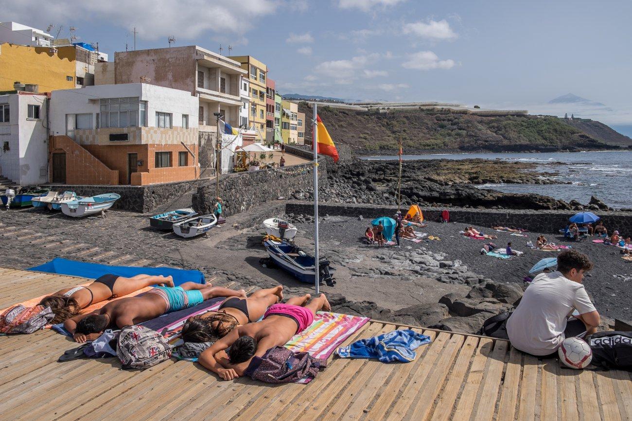 'La Barranquera' (Valle Guerra): tomando el sol