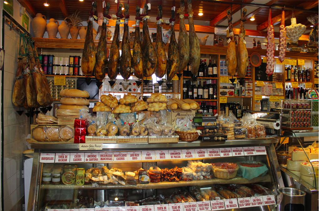 Algunos productos locales en la Venta San José. Foto: Venta San José.