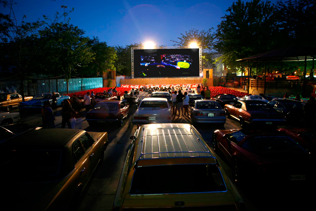 Un homenaje a los autocines clásicos en la capital, La Bombilla.