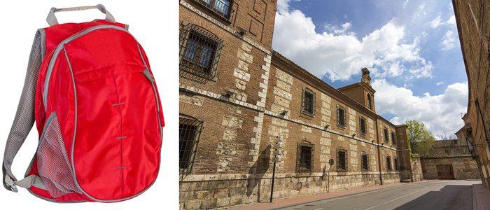 Las mochilas de mano son ideales para excursiones de un día.