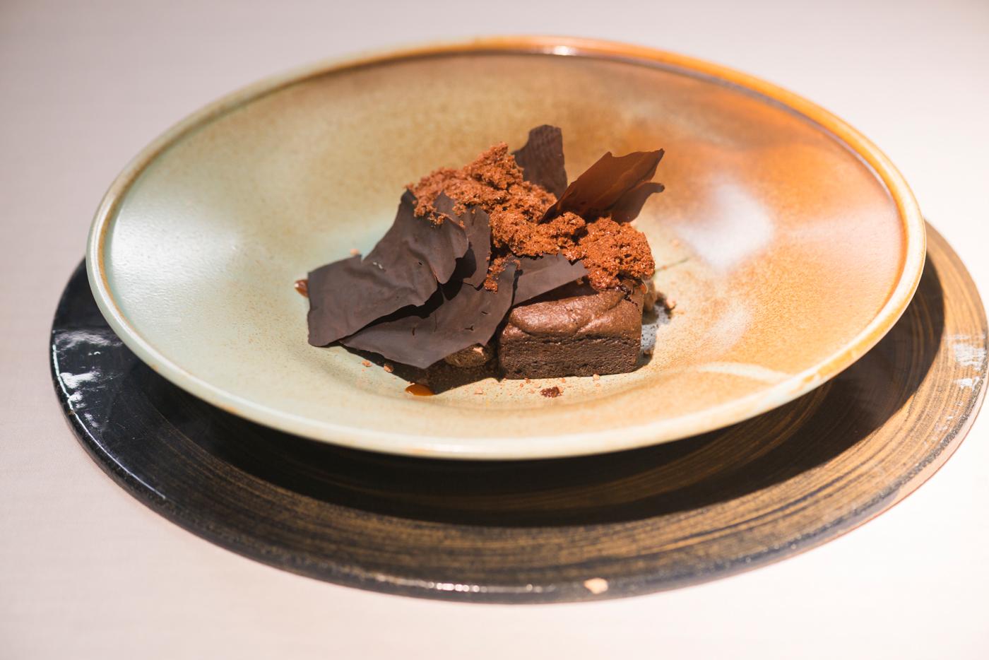 Postre Pasión de chocolate y algarroba, Magoga