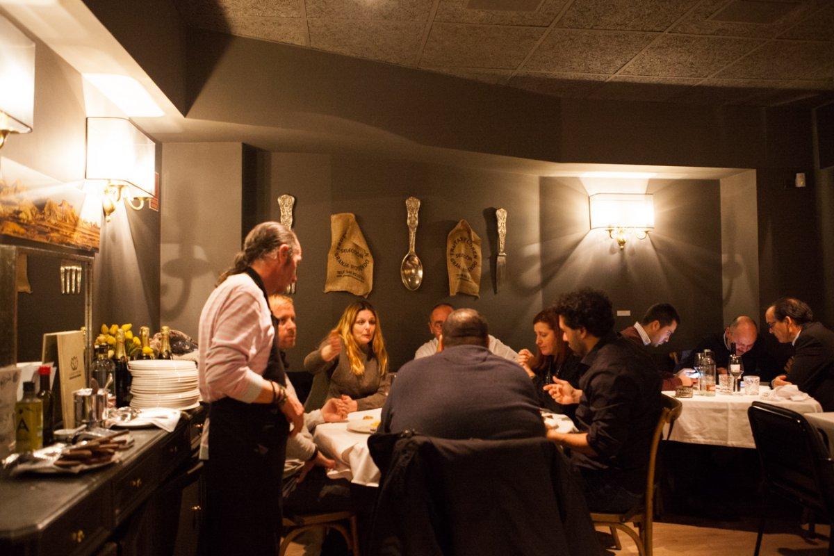 El chef Floren era antes suministrador de muchos restaurantes de la capital.
