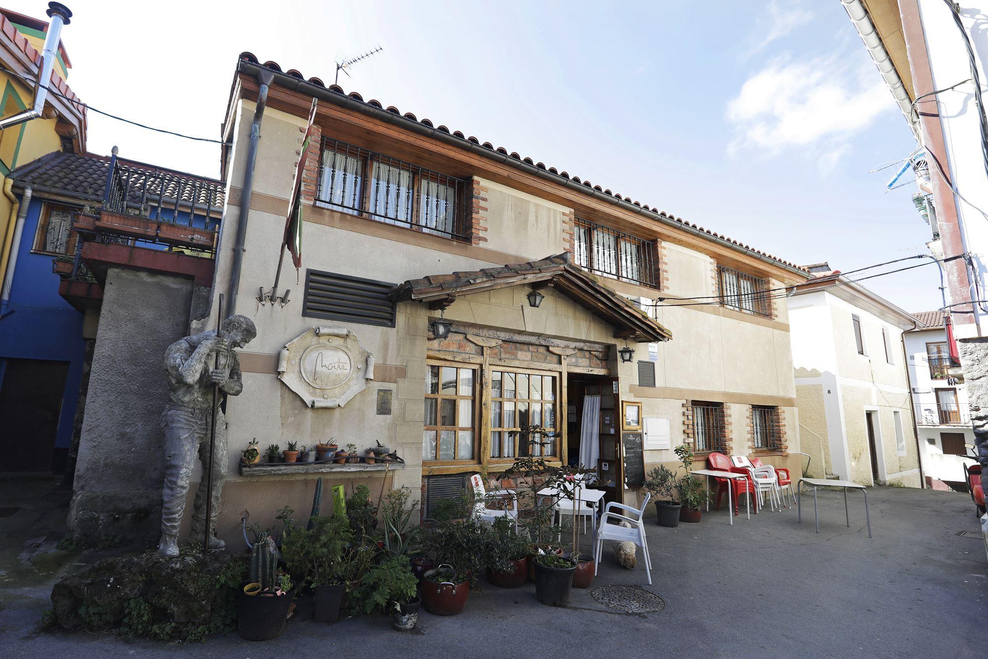 La fachada de 'Asador Maite', emblemático restaurante.