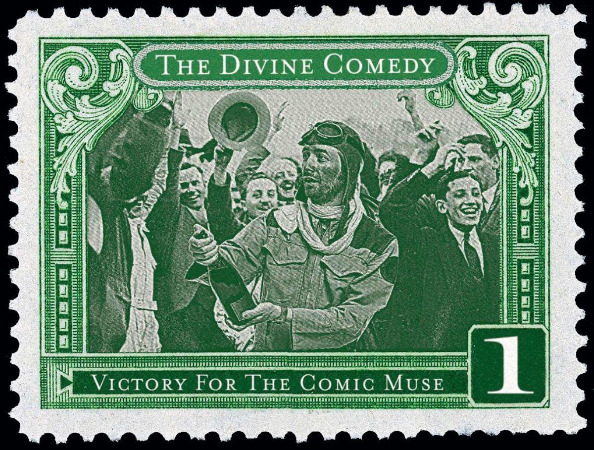 Portada del disco de The Divine Comedy.
