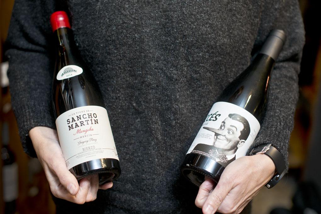 'El mentider' y 'La Vigne de Sancho Martín', dos vinos para compartir felizmente