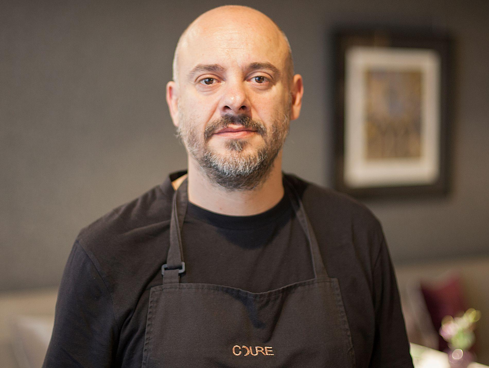 El chef Albert Ventura (dos Soles Repsol) está detrás de este nuevo proyecto. Foto: Grill Room Bar Thonet.