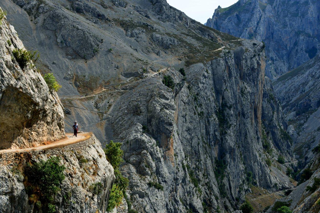 Parque Nacional Picos de Europa: Senda Cares. Foto: Alfredo Merino.
