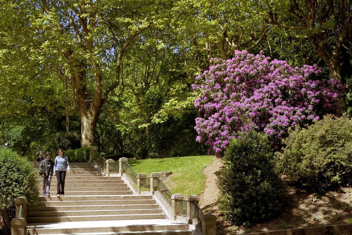 Parque de la Alameda. Foto: Santiago Turismo.