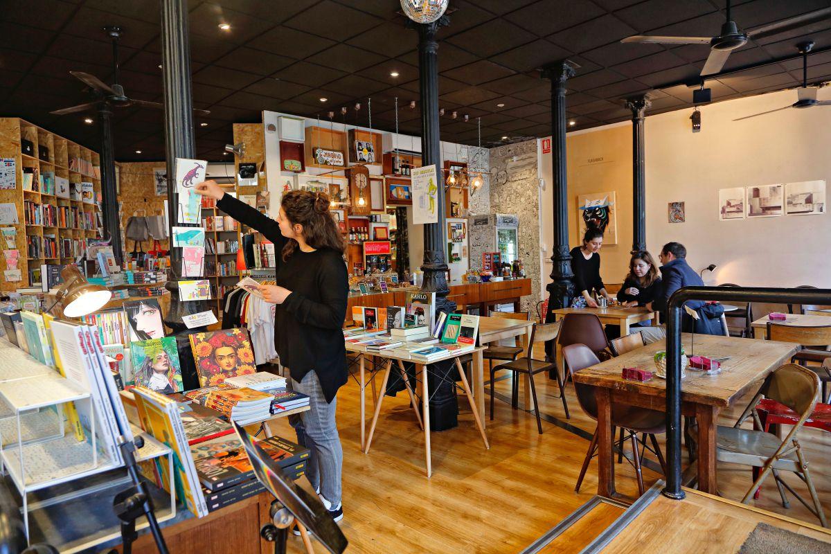 Café, libros y exposiciones, la otra apuesta en 'Ciudadano Grant'.